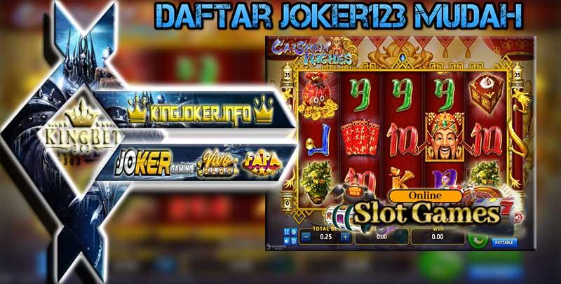 Daftar Slot Online Joker123 Mudah Indonesia